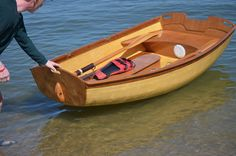 Awesome little boat! Kids at http://www.boxofrain.org built a nice Coot Dinghy…