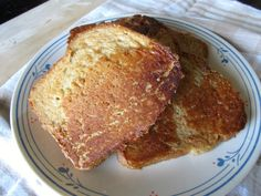 Peanut Butter French Toast: Bread Without Butter: Recipe