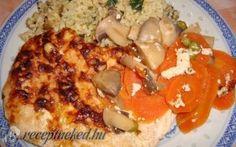 Bajor csirke recept Dankovics Edina konyhájából - Receptneked.hu Food And Drink, Chicken, Cubs