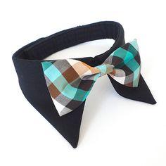 Dog Shirt Collar Bow Tie