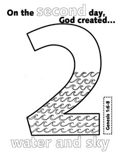 The Days of Creation are written starting in Genesis 1:1
