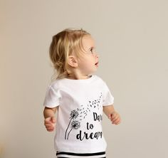 Aster & Oak Dare To Dream Organic Cotton T-Shirt White