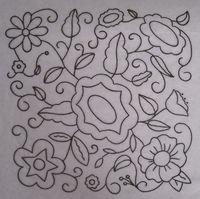 Hazel's Summer Wildflowers, Block 2