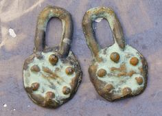 Rustic  Charms  OOAK Handmade Metalwork Jewelry by Inviciti #etsy #fashionjewelry #handmade #handcrafted #ooak #etsyfinds #artisan