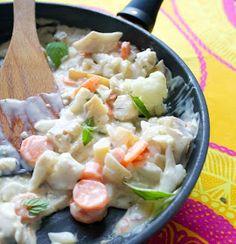 Hämmentäjä: Kesäinen kalakastike vaaleasta kalasta White fish sauce, a sign of summer