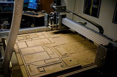 I didn't look at this but this could be amazing. DIY CNC: Build Your Own CNC, CNC Router, or 3D Printer