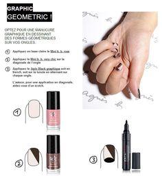 La manucure graphique step by step !