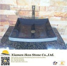 Shanxi Negro Granito <strong> Baño </ strong> de la esquina del…