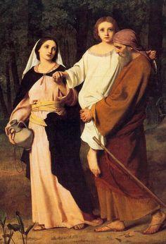 Jesus com José e Maria