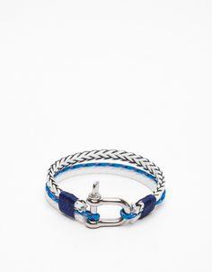 White/Blue Nautical Rope
