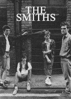 The Smiths. Oh Morissey, you cute little thing!