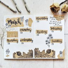 21 Delicious Brown Bullet Journal ideas and Spreads Bullet Journal Notebook, Bullet Journal Aesthetic, Bullet Journal School, Bullet Journal Inspo, Bullet Journal Layout, Bullet Journal Ideas Pages, Bullet Journal August, Bujo, Bellet Journal