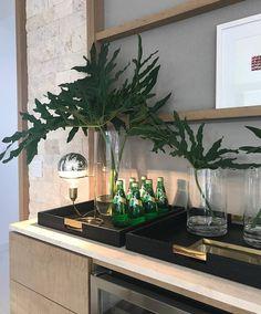 """Produção linda e inspiradora para uma mesa bar decoração de Salas (Projeto by Ninha…"""""""