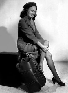 I first made the acquaintance of Ann Blyth on the film set of the filming of  Mildred Pierce, (1945). Warner Bros had borrowed Ann for this film.  It was Anton Grot's that called Ann over and introduce me. It was later that year filming Danger Signal , (1945). But burring filming, Ann Blyth suffered a broken back whiles sledding, this all happed while she was on a briefly vacationing in Snow Valley 14 miles from Lake Arrowhead.