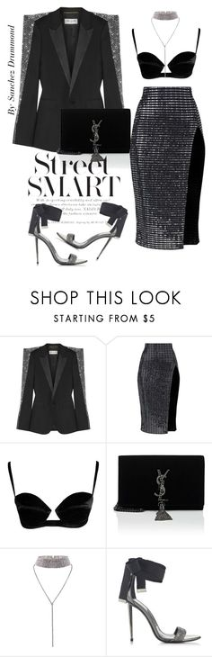 """Untitled #718"" by sanchez-drummond ❤ liked on Polyvore featuring Yves Saint Laurent"