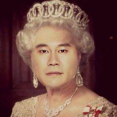 Queen Elizabeth II and tiara Yang Hyun Suk, Isabel Ii, George Vi, Boris Johnson, Cars And Coffee, Save The Queen, Prince Philip, Queen Elizabeth Ii, Most Beautiful Man