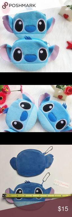 🎁💕Disney Stitch Plush Coin Bag Set Of Two🎁💕 2 pieces. Perfect for Valentine's Day or to fill up with goodies. Great deal for this cute key chains/coin bag  Cute 10CM Lilo Stitch Plush Toy , Keychain Gift Plush Toy Pouch Toys Specifics New without tags Item TypeAnimals FeaturesPlush,Soft GenderUnisex ThemeTV & Movie Character Model Numbercartoon MaterialCotton FillingPP Cotton AnimalsOther Bags