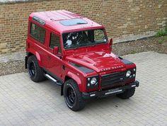Land Roverd.