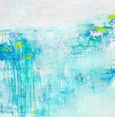 FINEARTSEEN - View In the Garden of Good by Laura Spring. A beautiful original minimal abstract painting to brighten up your home or interior decor. Freshen up your walls for Spring and view the beautiful authentic collection of artwork available on FineArtSeen - The curated online destination to discover and buy original art from the world's most talented artists. Enjoy Free Delivery with every order. >