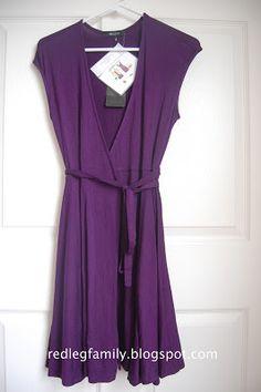 Stitch Fix #4 Calafia Jersey Wrap Dress by 41Hawthorn