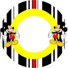 Inspired in Mickey Mouse: Free Party Printables in Red and Black. Right click and save as Mickey Mouse E Amigos, Mickey E Minnie Mouse, Fiesta Mickey Mouse, Mickey Party, Mickey Mouse And Friends, Boys 1st Birthday Party Ideas, Mickey Mouse Birthday, 1st Boy Birthday, Cupcakes Mickey