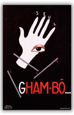 Gham-Bo by Paul Colin (1930)