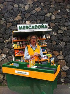 Genial #disfraz de #Mercadona!!!