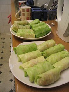 Cabbage rolls! yumm! These're typical Finnish homefood.