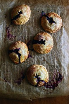 Blueberry Hand Pies by Beth Kirby | {local milk}, via Flickr