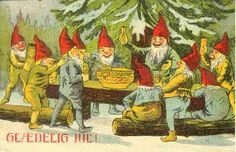Vintage Danish Christmas card...