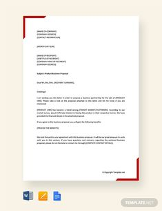 13 Best Proposal letter images in 2019   Business proposal