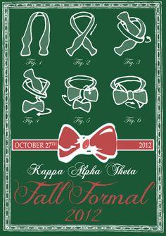 Kappa Alpha Theta Fall Formal Shirt