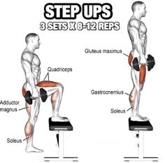 Leg Day Workout But Slightly Different Part 4! Step Ups