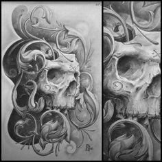 Чикано череп