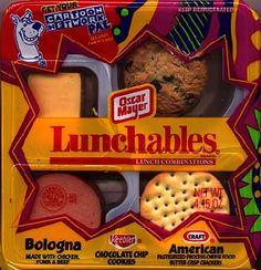 Lunchables before they were all faux healthy. #90s.
