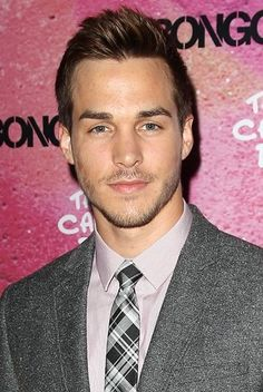 Chris Wood at The Carrie Diaries season two premiere party