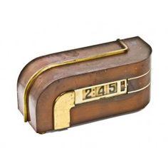 "Original and functional iconic american art deco machine age ""zephyr"" electric desk clock. #vintageclock #antiqueclock"