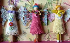 Franciens haakwerk: little angels for the Christmas tree