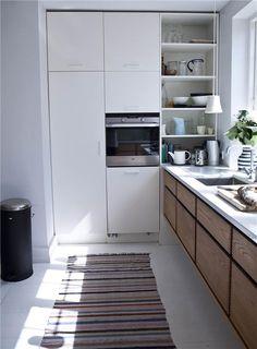 iBoligen.dk - Køkken Miks farver og materialer i Køkkener