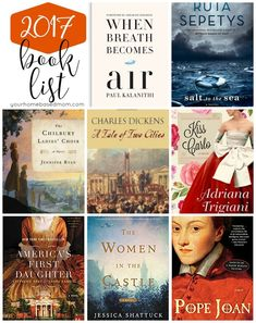 My 2017 Book List -