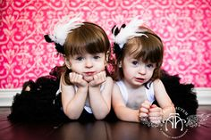 twin little girls sisters portraits in studio toddler by tracy autem lightly photography fort worth 0002 Jaylee & Landry   Sweet Twin Sister...
