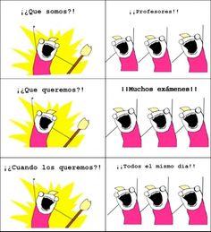 Otros - Siempre lo mismo durante época de exámenes