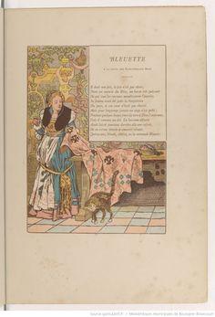 Bleuette : conte en vers / François Coppée. Illustrations Henri Pille | Gallica