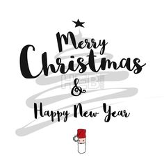 #Merry #Christmas and #Happy #New #Year #Card