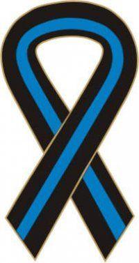 Thin Blue Line Ribbon