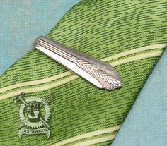 Allure 1939 Pattern Spoon Money Clip / Tie Clip by doctorgus