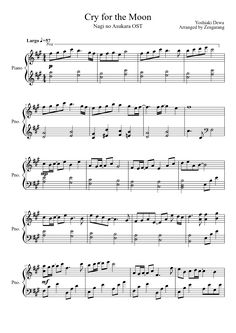 vampire knight opening sheet music pdf