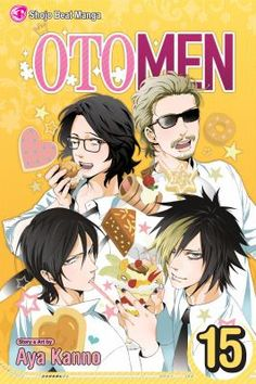 Otomen, Volume 15, story and art by Aya Kanno  /After his father declares him as his successor, Hajime, Asuka's rival, must try to give up his love of makeup in order to enter the world of politics
