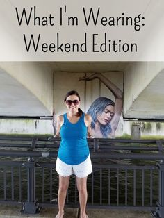 What I'm Wearing Weekend Edition - Believe it or not this is my first #OOTD post. I've reviewed clothing subscription boxes a lot, but this review is different! It's actually me in a post! ;) I talk about my lunch date with R and my new fave outfit.