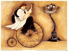 Paris Maitre d' Pósters por Jennifer Garant en AllPosters.com.mx